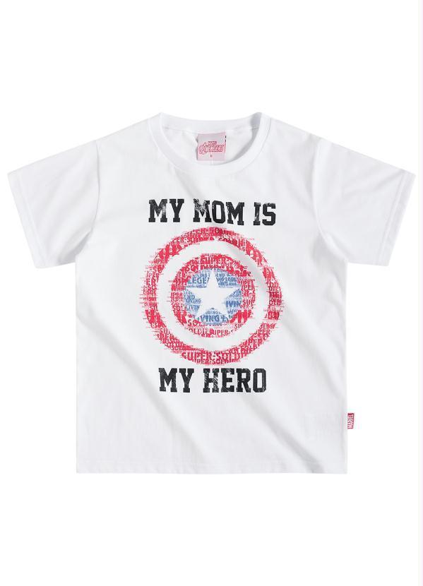 6560872e003e75 Camiseta Tal Mãe Tal Filho - Capitão America - Brandili