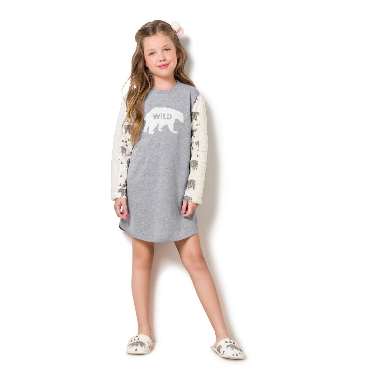 e24fecae18 Camisola manga longa infantil - louvre - Veggi - Pijama Infantil ...