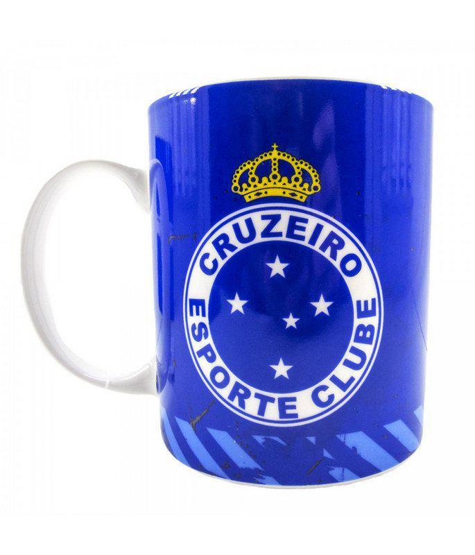 Caneca De Porcelana Na Lata 320ml - Cruzeiro - Copos 65d4194565cde