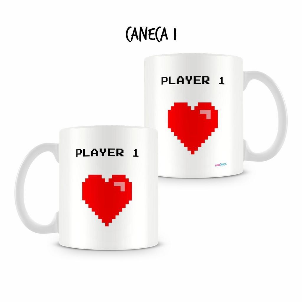 21556f3babc71a Caneca Dupla Personalizada Player - Amocanecas