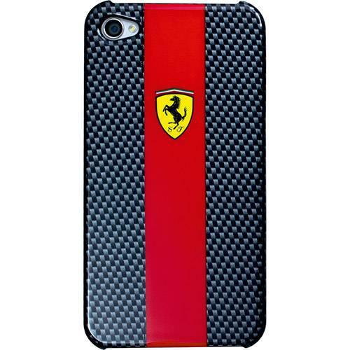 509ff70166 Capa Original Itrend Ferrari Iphone 4/4s FECBP4RE Carbono - Capinha ...