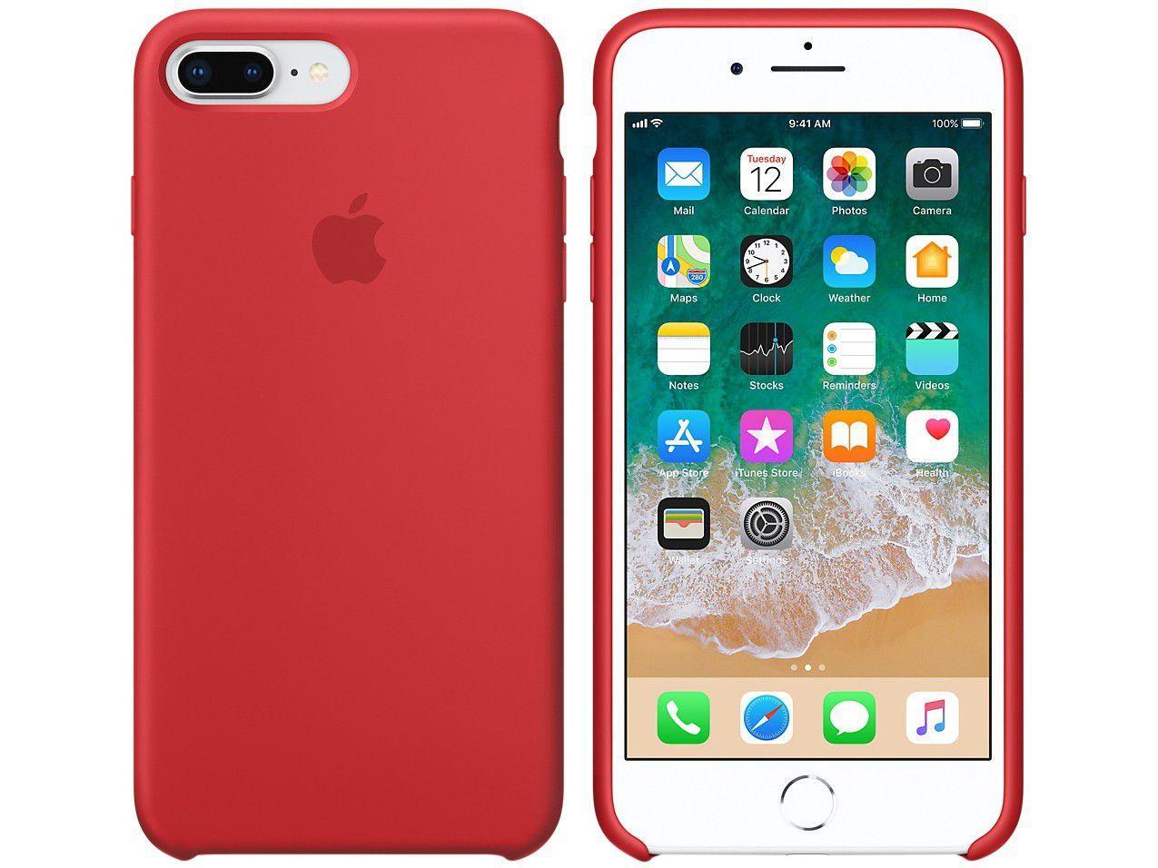 228b3a2779be12 Vídeo Imagem de Capa Protetora Silicone para iPhone 7 Plus e Imagem de Capa  Protetora Silicone ...