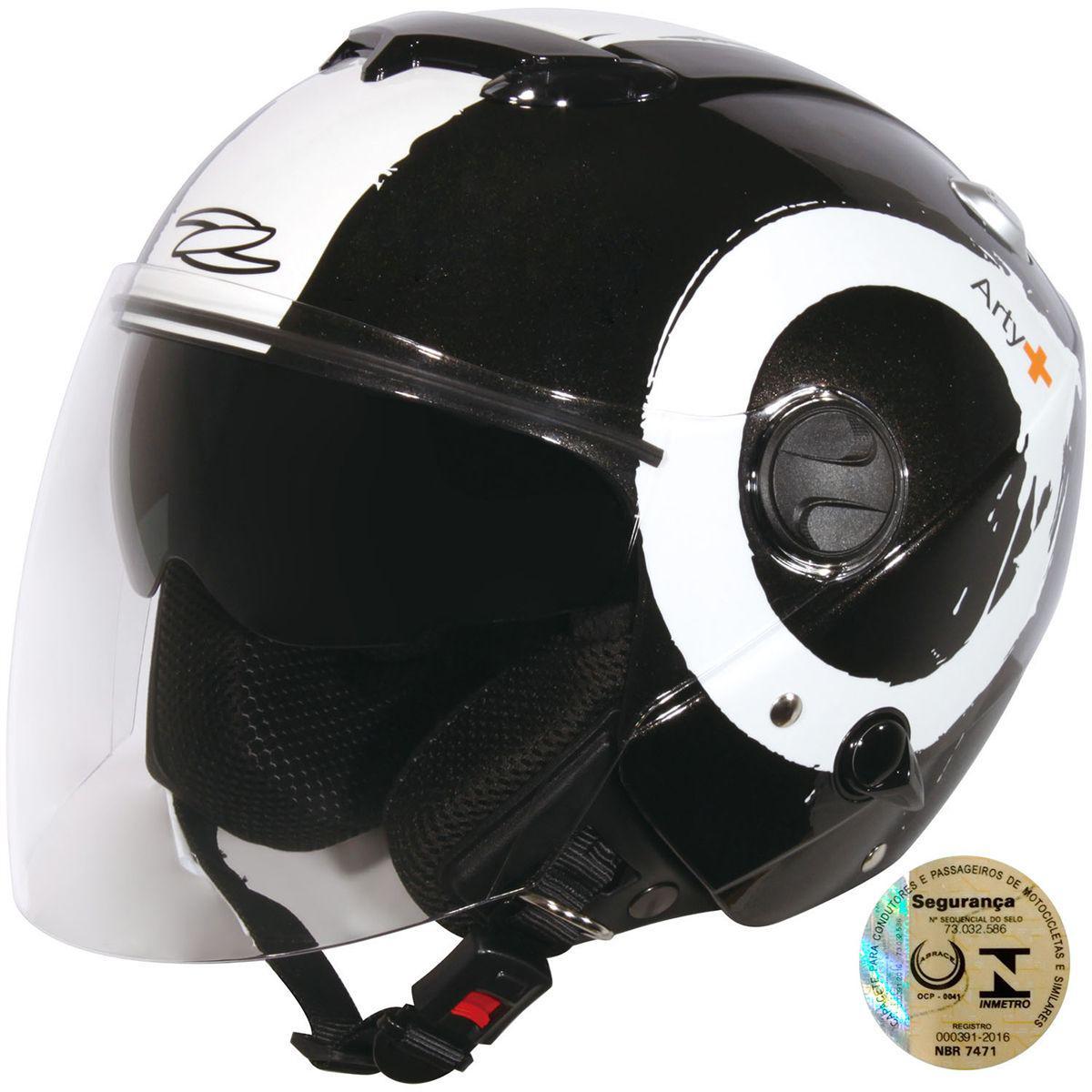 Capacete Aberto Com Viseira Solar 202Fb T40 Arty Zeus Produto não disponível 8ed28fee2c2