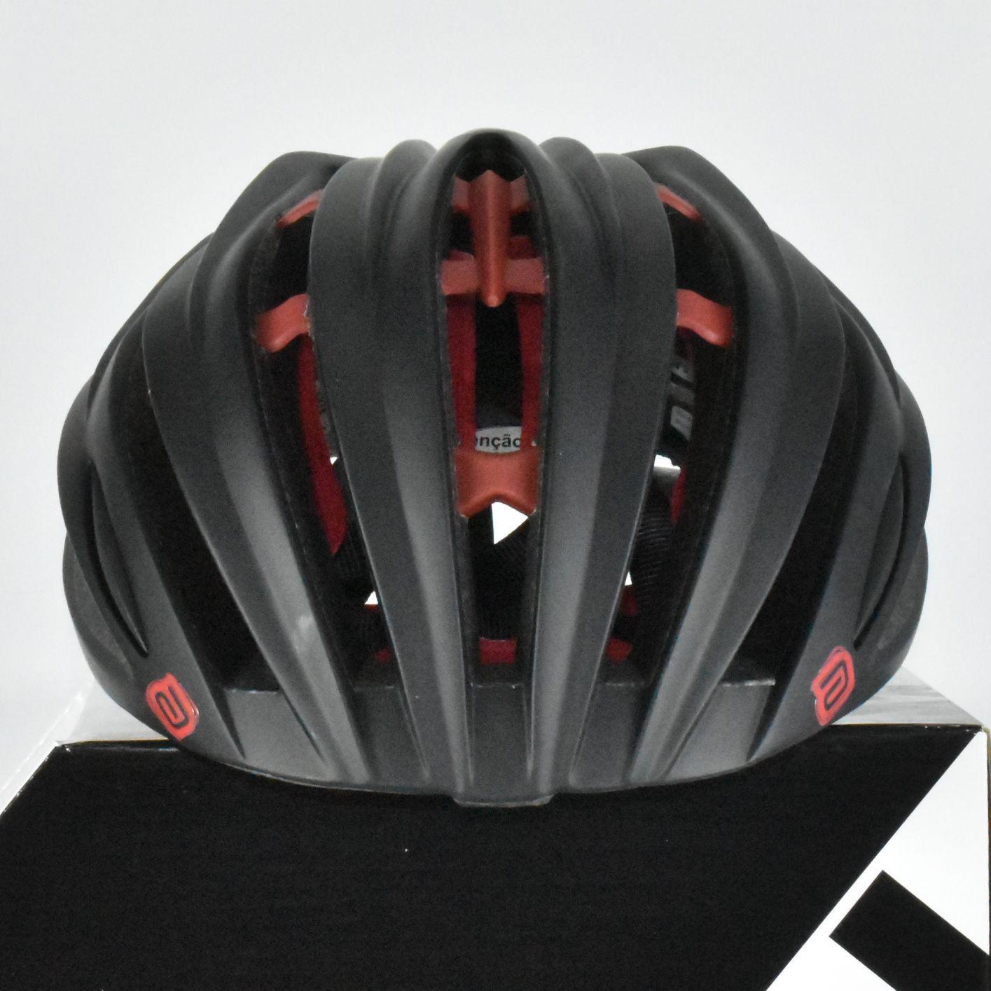 Capacete Asw Bike Elite Preto Vermelho Bicicleta Montain - Capacete Ciclismo  - Magazine Luiza