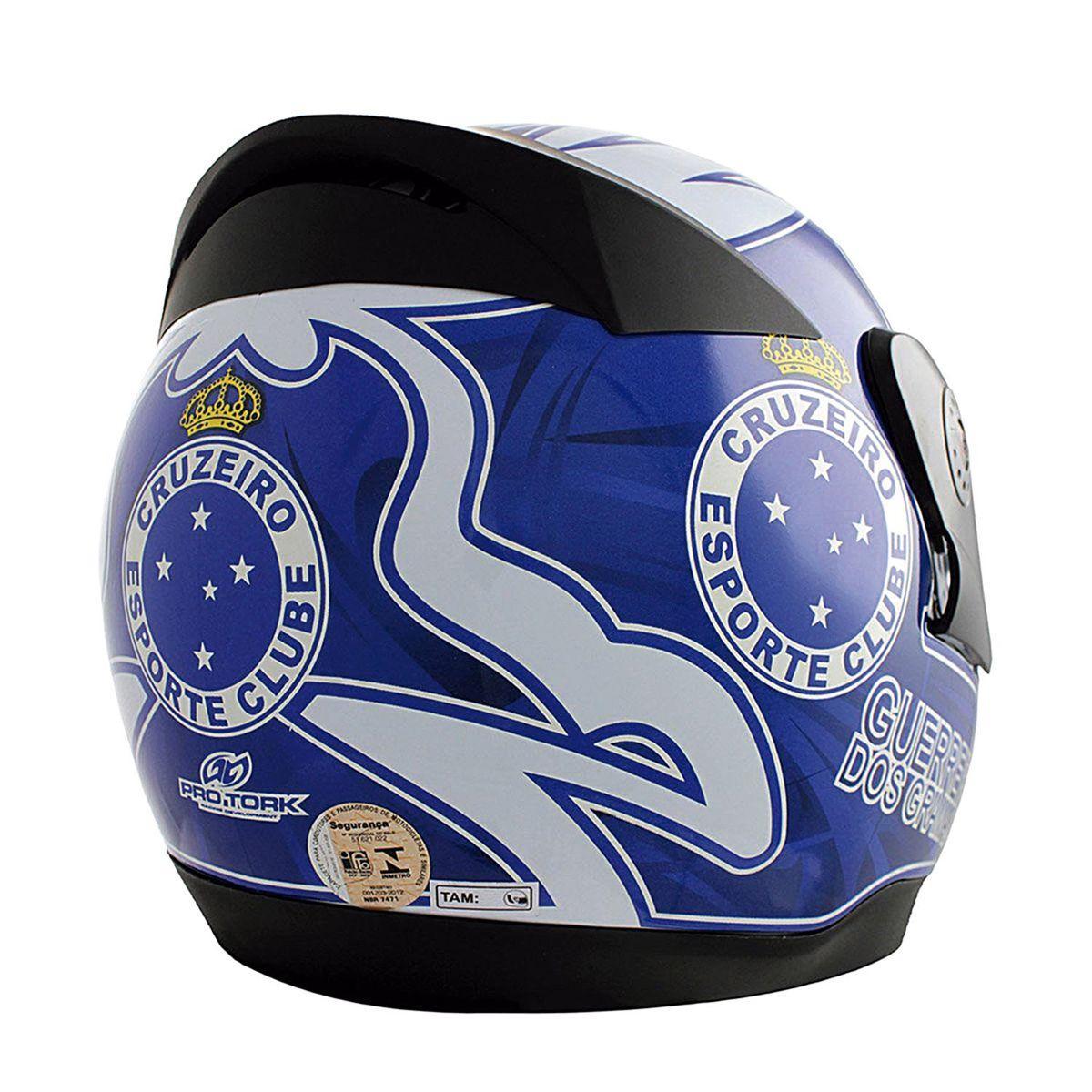 a30a830514 Capacete Liberty Evolution 3g Do Cruzeiro Pro Tork - Capacetes ...