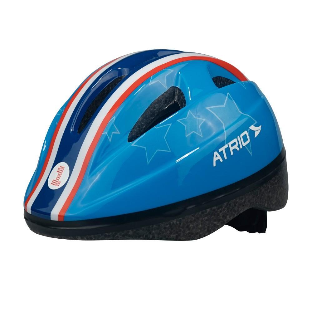 5afd3f9f7f Capacete para Ciclismo Infantil Azul Estrela - PP - Atrio - Atrio R  50