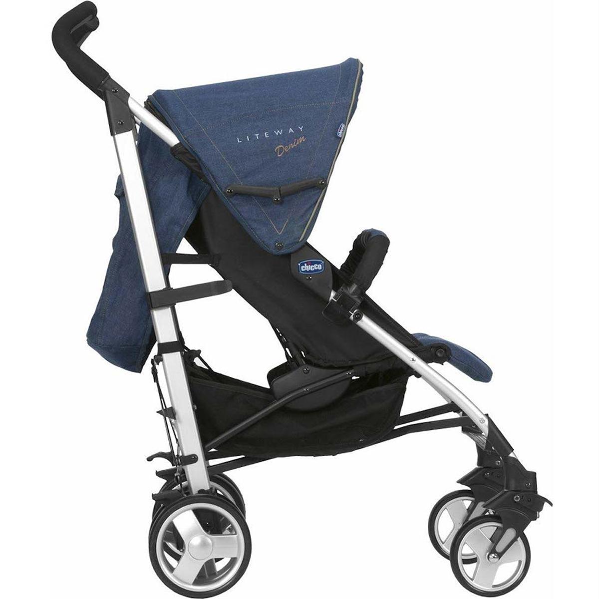 carrinho de beb chicco lite way at 15kg denim produtos para passeio com o beb. Black Bedroom Furniture Sets. Home Design Ideas