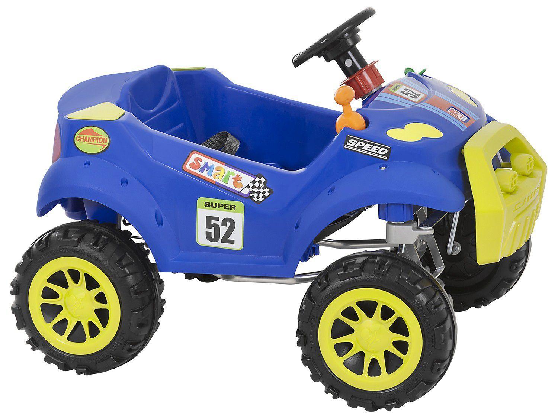b91ada3a18dc31 Carro a Pedal Infantil - Smart Passeio Pedal Bandeirante - Carros a ...