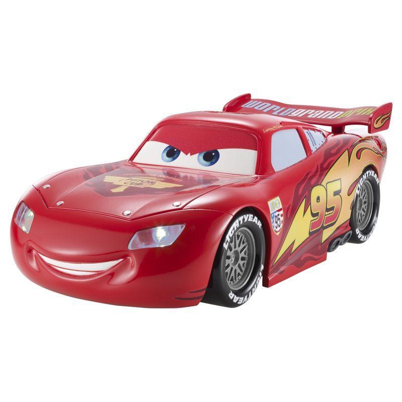 Carro Disney Cars 2 Com Luz E Sons Relampago Mcqueen Mattel