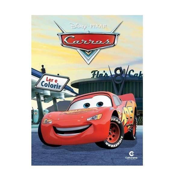 Carros Livro Atividades Colorir Mascaras Disney Culturama 210002