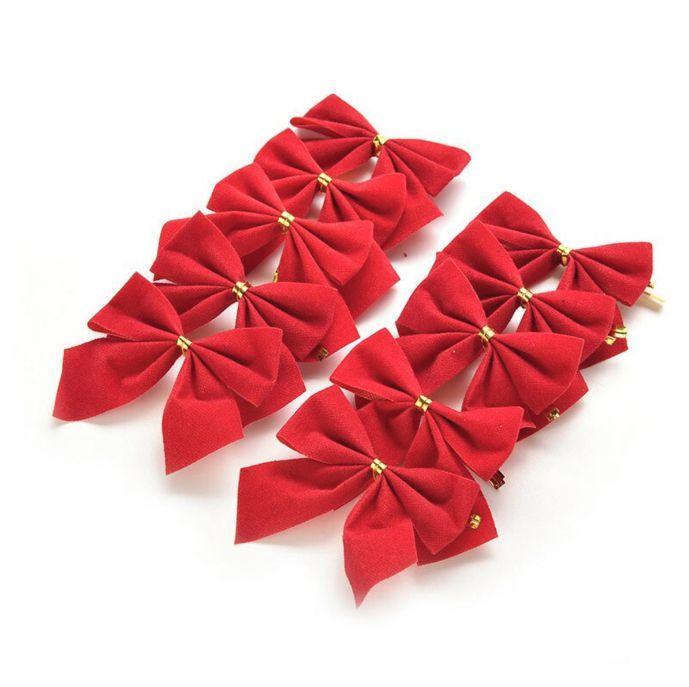 Cartela Com 12 Laços Vermelhos Enfeite Para Árvore De Natal - Nova -  Enfeites para Árvore de Natal - Magazine Luiza