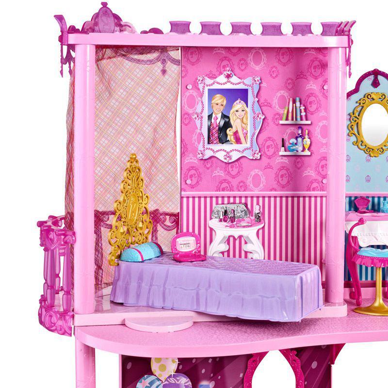 Castelo da Barbie - Escola de Princesas - Mattel - Boneca ...