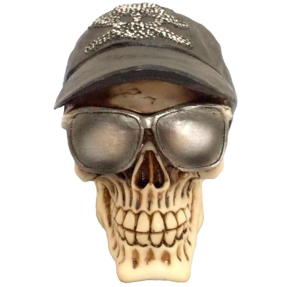 Caveira Decorativa Com Óculos De Sol - Versare anos dourados R  79,00 à  vista. Adicionar à sacola 1a26e24cda
