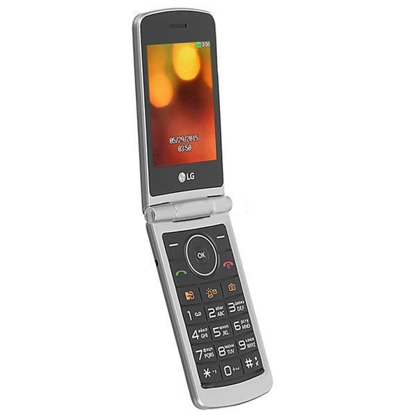 f54a5ec9aec Celular Lg G360 Dual Sim Flip Tela 3.0 Câmera Rádio Fm R$ 329,90 à vista.  Adicionar à sacola