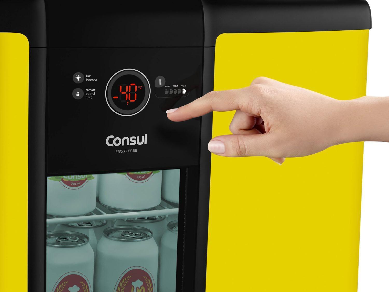 Cervejeira expositor freezer vertical consul frost free - Temperatura freezer casa ...