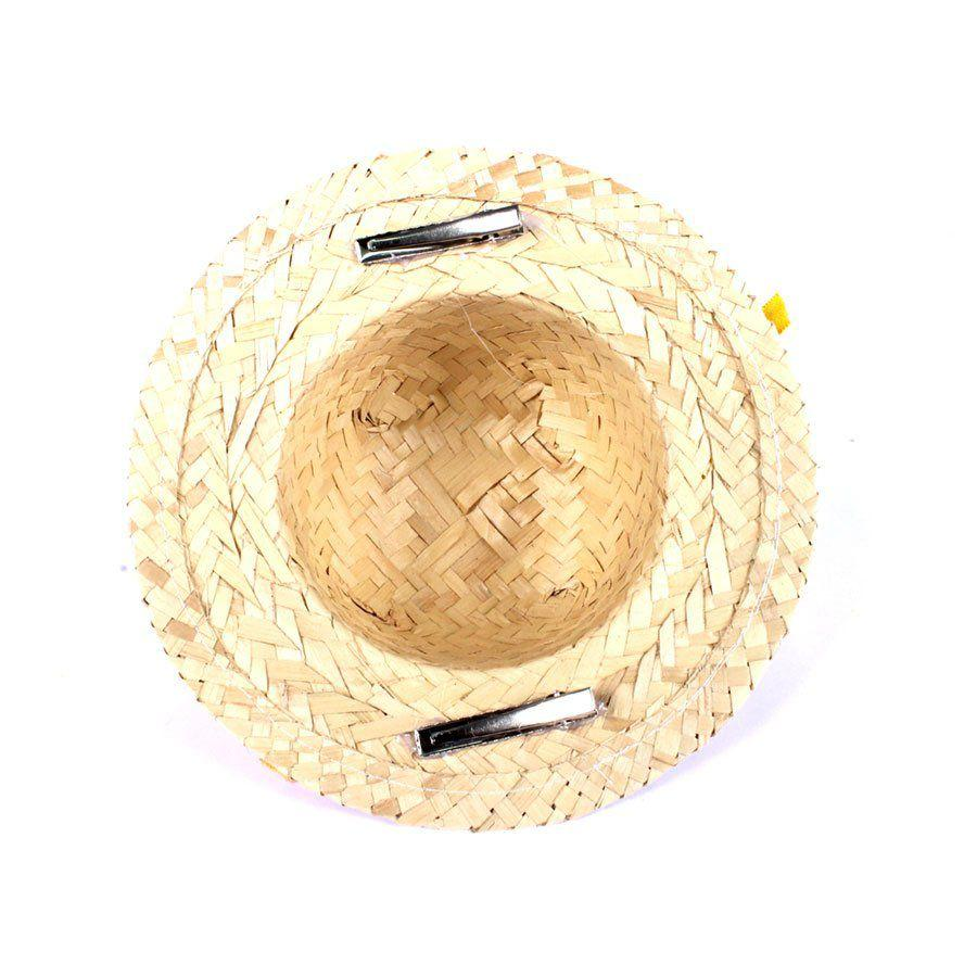 Chapéu de Festa Junina Laranjinha com Grampo - Aluá festas - Artigos ... 21430c71166