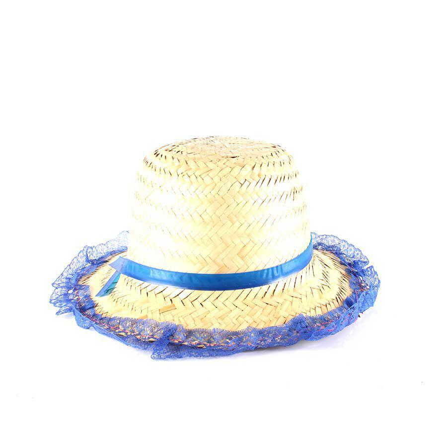 fef317d6faac8 Chapéu de Palha com Renda Festa Junina Feminino - Sortidos - Aluá festas R   6