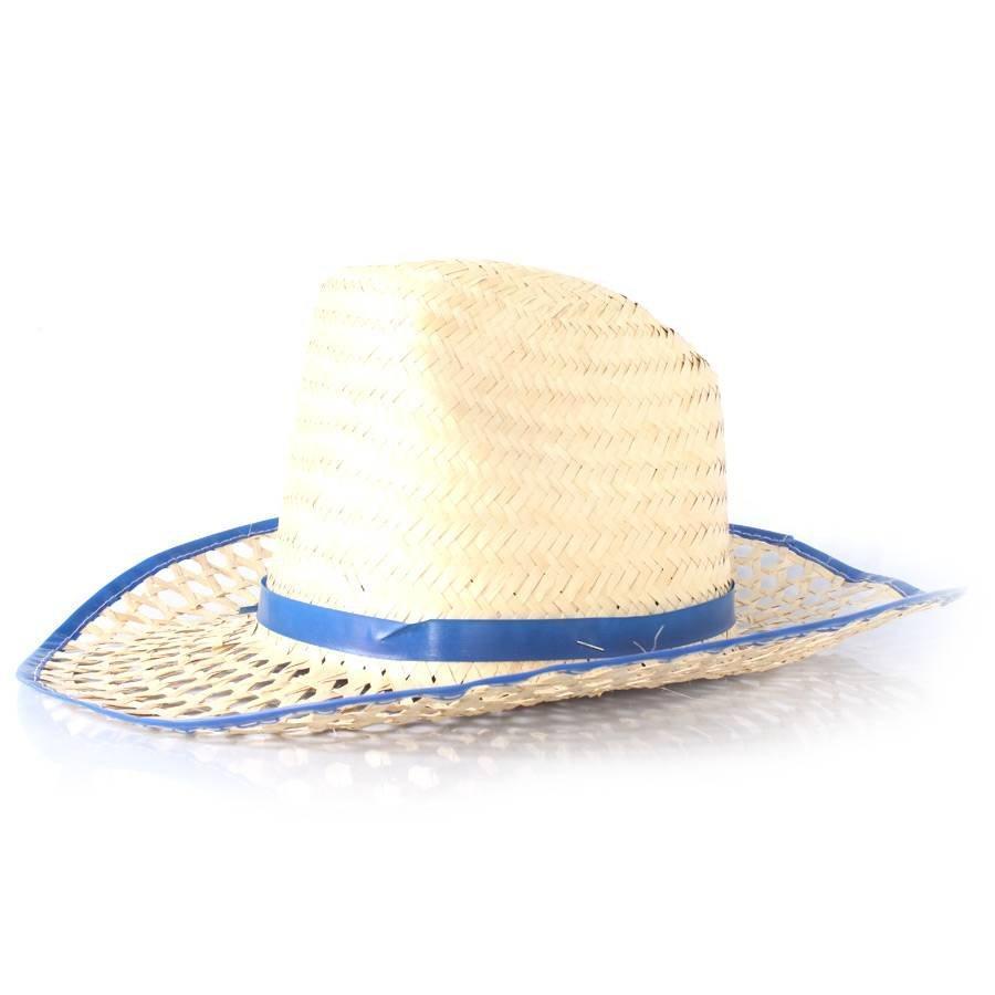 Chapéu de Palha Country com Aba Vazada - Cores Sortidas - Aluá festas R   5 d0f8ed23a17