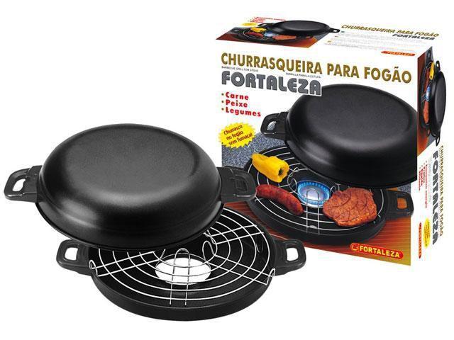 Aaa Mastercard Login >> Churrasqueira de Fogão Antiaderente 30cm - Alumínio ...
