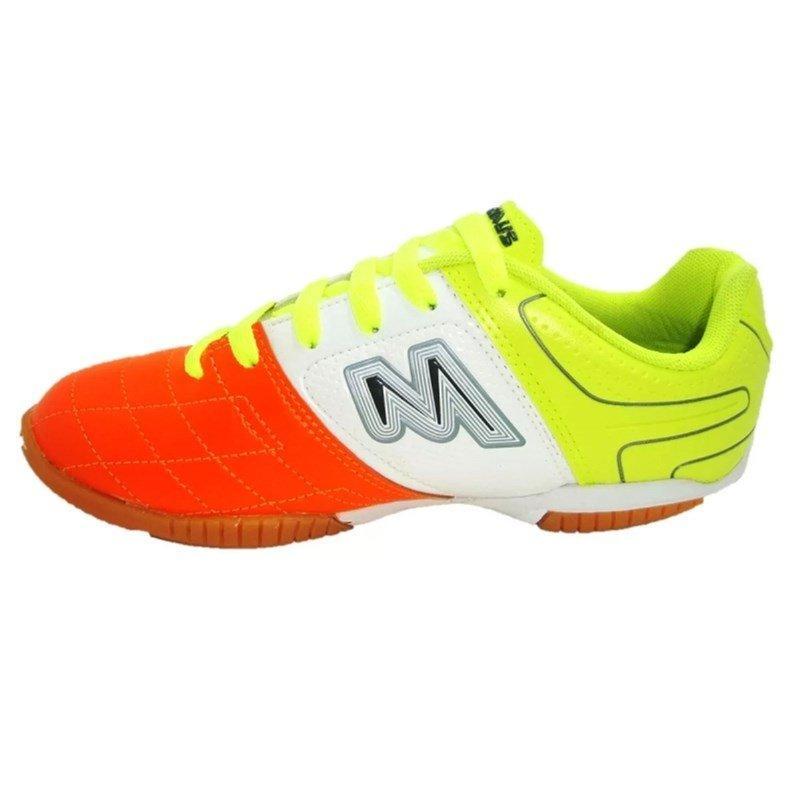 Chuteira Futsal Indoor Mathaus Italia Couro Natural Legítimo R  149 fb7ea6c9d71ce