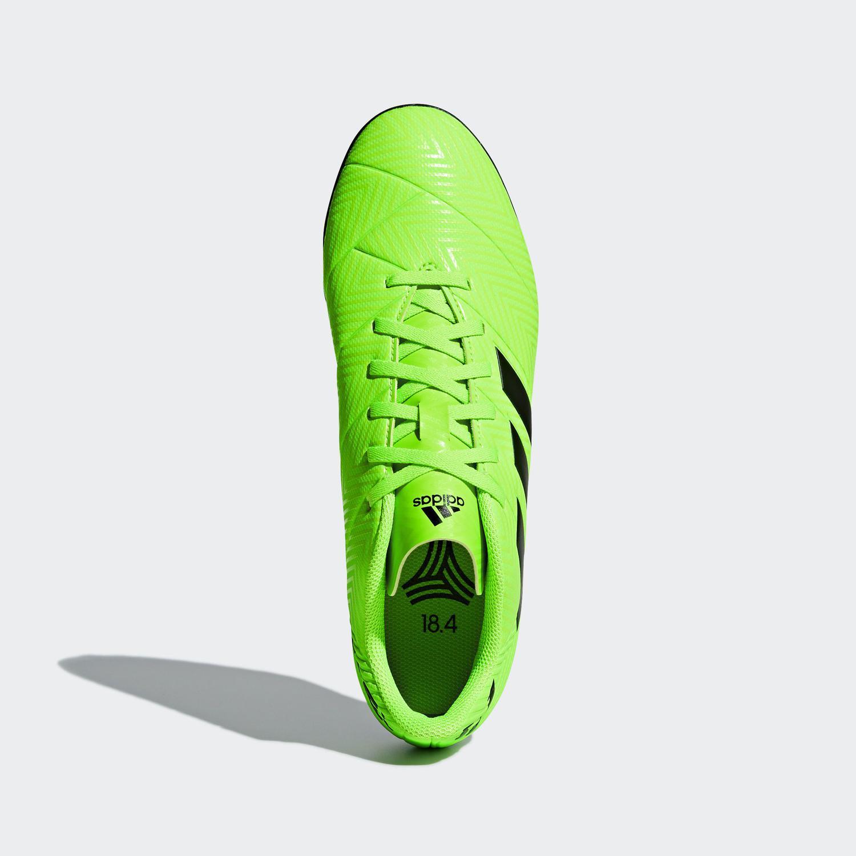 Chuteira Society Adidas Nemeziz Messi Tango 18.4 - Verde - Chuteira ... dcec33bf42c68