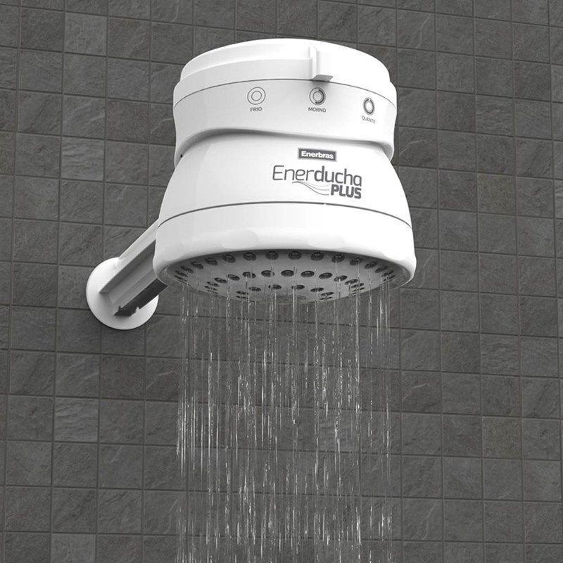 Chuveiro 3 Temperaturas Enerducha Plus Branco 5400W 220V Enerbras - Chuveiro  - Magazine Luiza