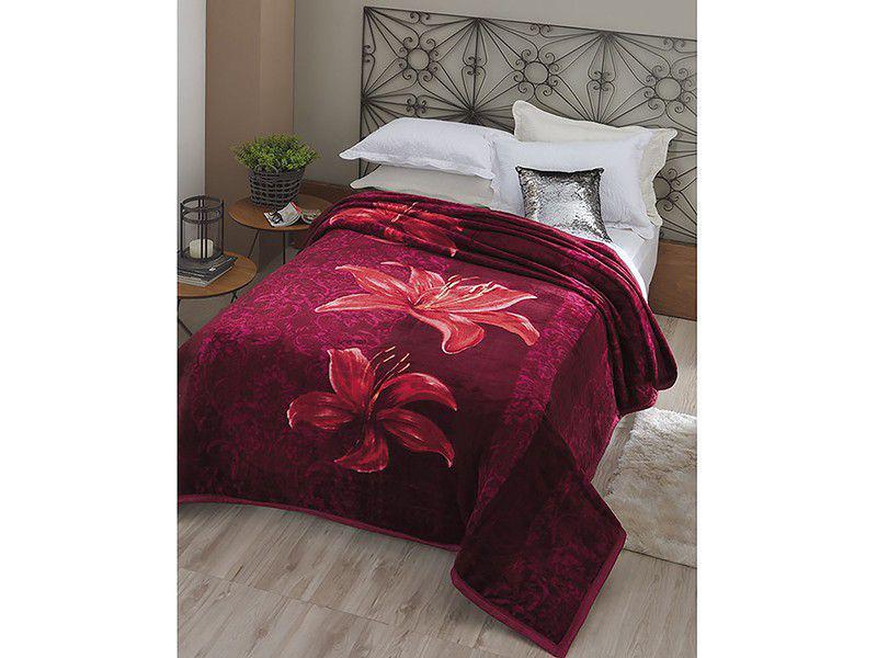 059173485f Cobertor Casal Microfibra Dyuri Angresse - 1 Peça Produto não disponível