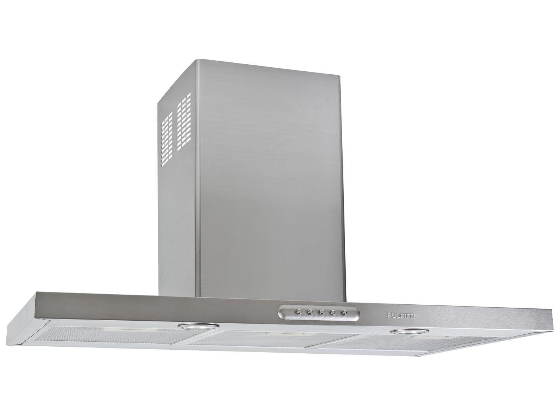 coifa de parede fogatti inox 90cm 3 velocidades slim cri coifa magazine luiza. Black Bedroom Furniture Sets. Home Design Ideas