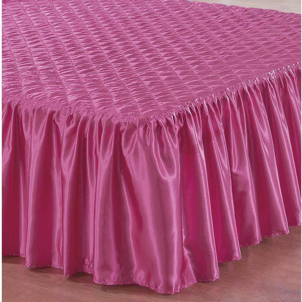 9f2ea2e80 Colcha Casal Padrão Caroline 03 Peças Bordado - Tecido Cetim - Pink -  Zelimari R$ 134,00 à vista. Adicionar à sacola