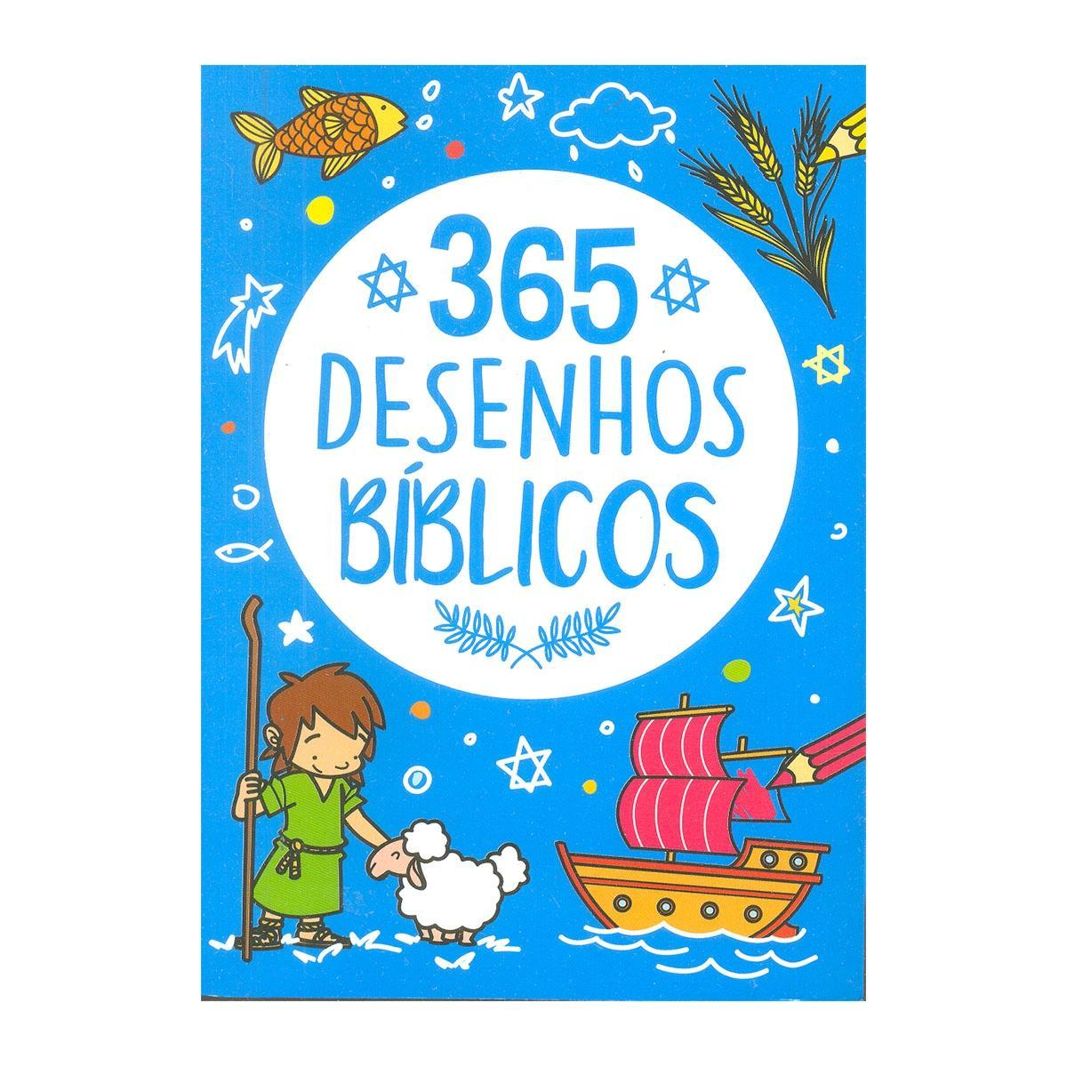 Colecao 365 Historias Biblicas Atividades Desenho Biblicos Pe Da