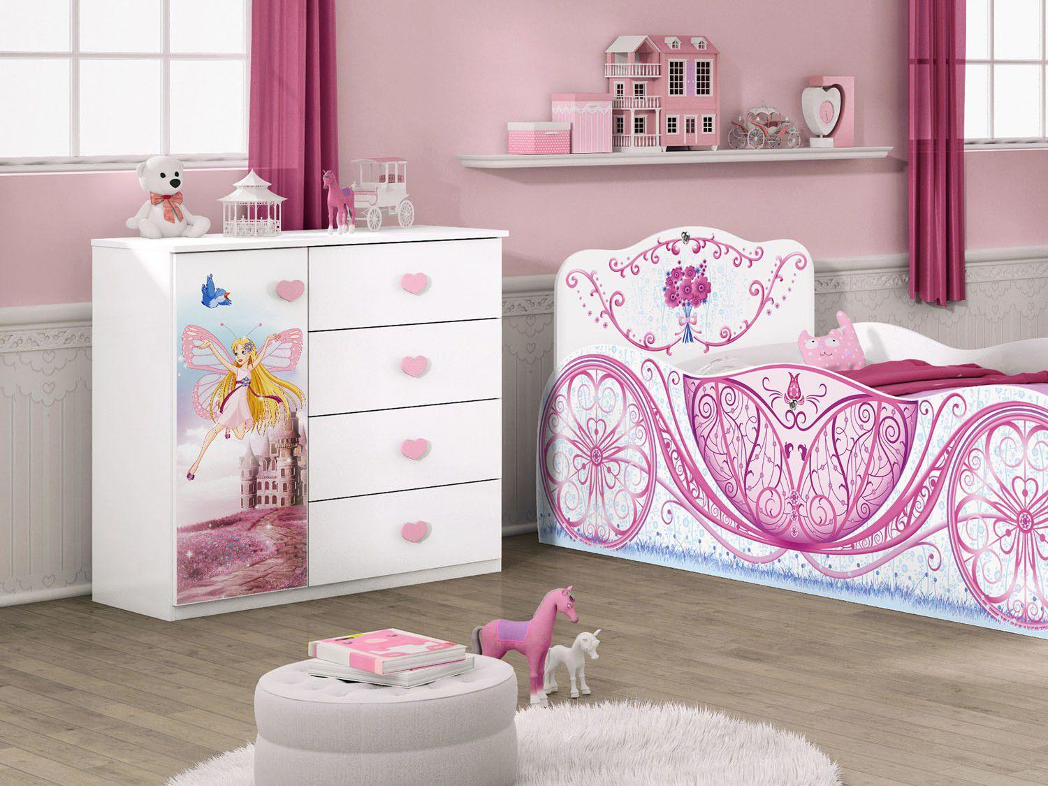 c moda infantil 1 porta 4 gavetas m veis estrela. Black Bedroom Furniture Sets. Home Design Ideas