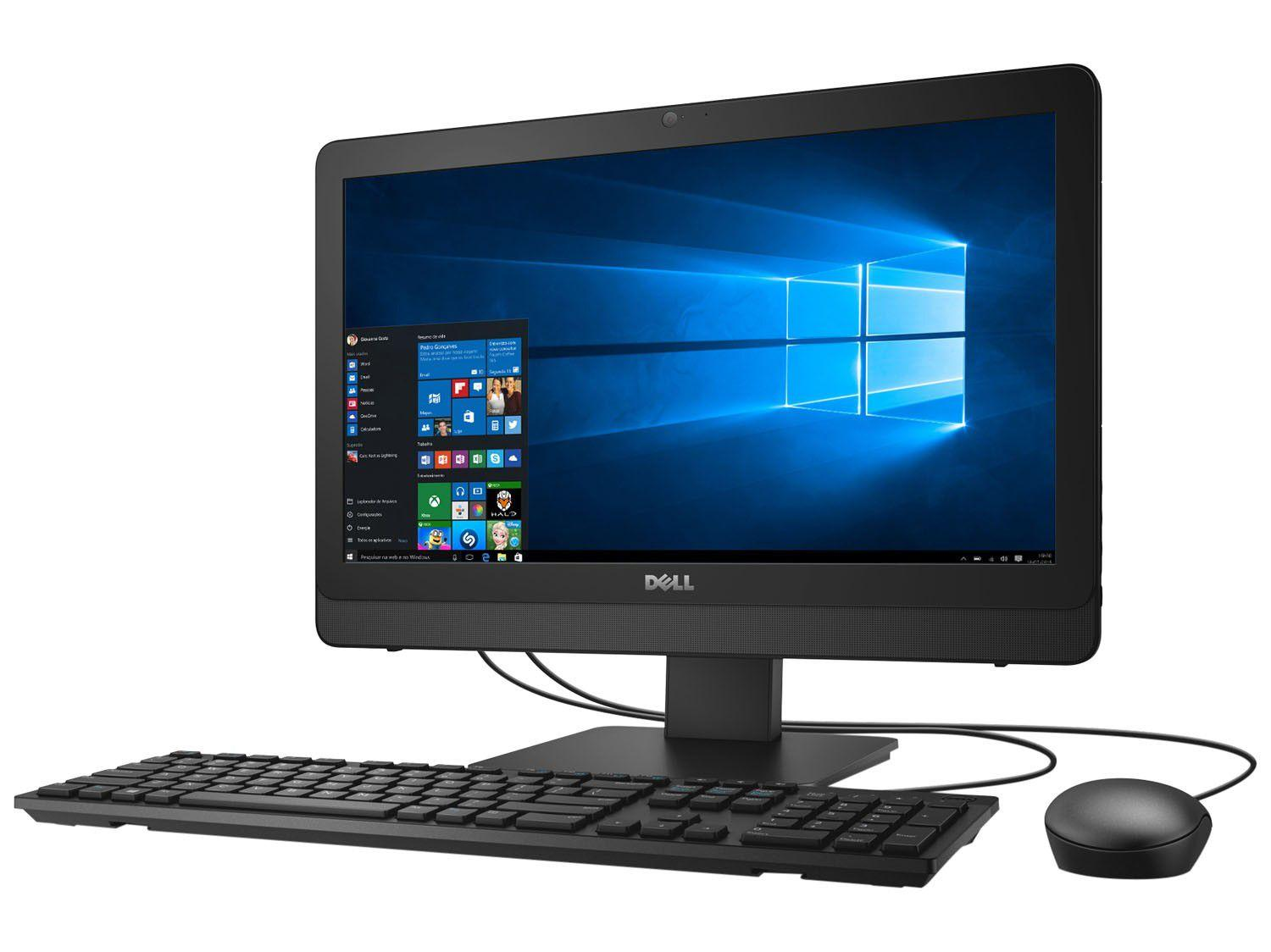 computador all in one dell ione 3064 a20 intel core i3. Black Bedroom Furniture Sets. Home Design Ideas
