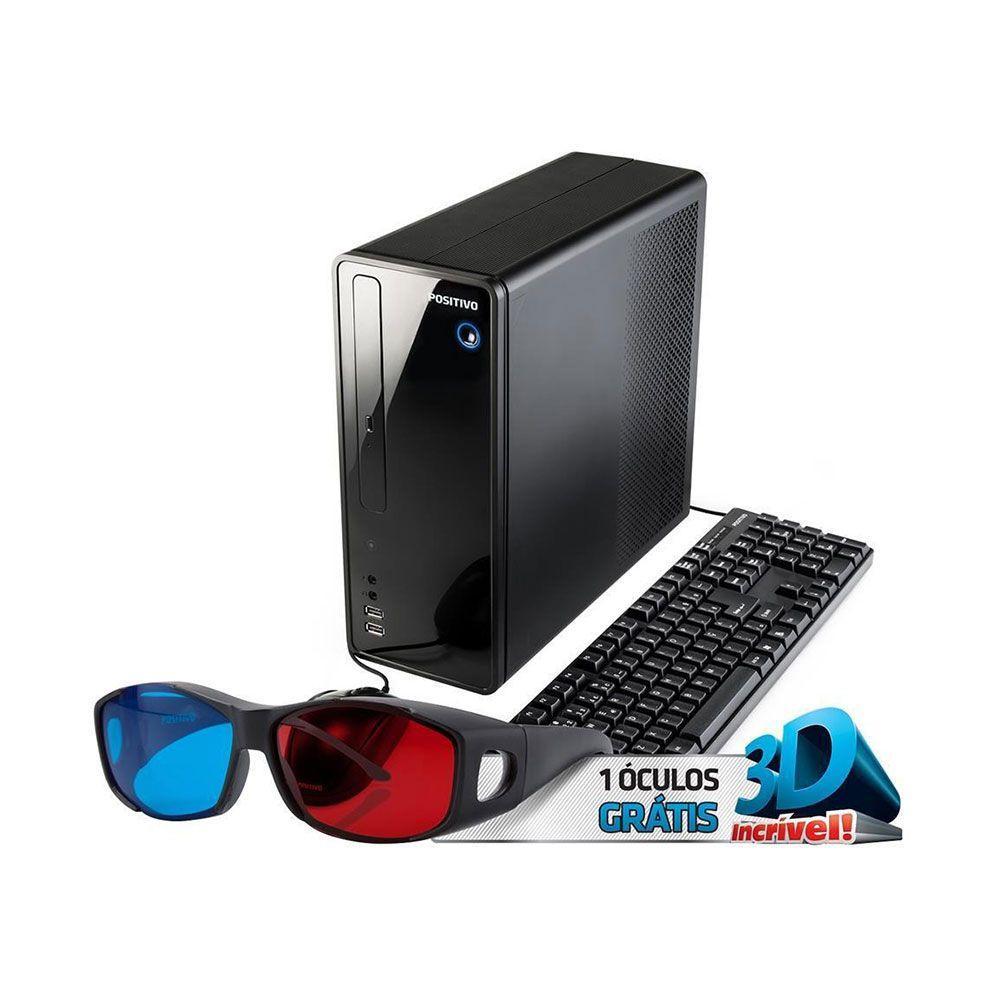 Computador Positivo Stilo DS-3550 Dual Core 4GB HD 500 Win 10 Óculos 3D  Produto não disponível d9f81fdaa2