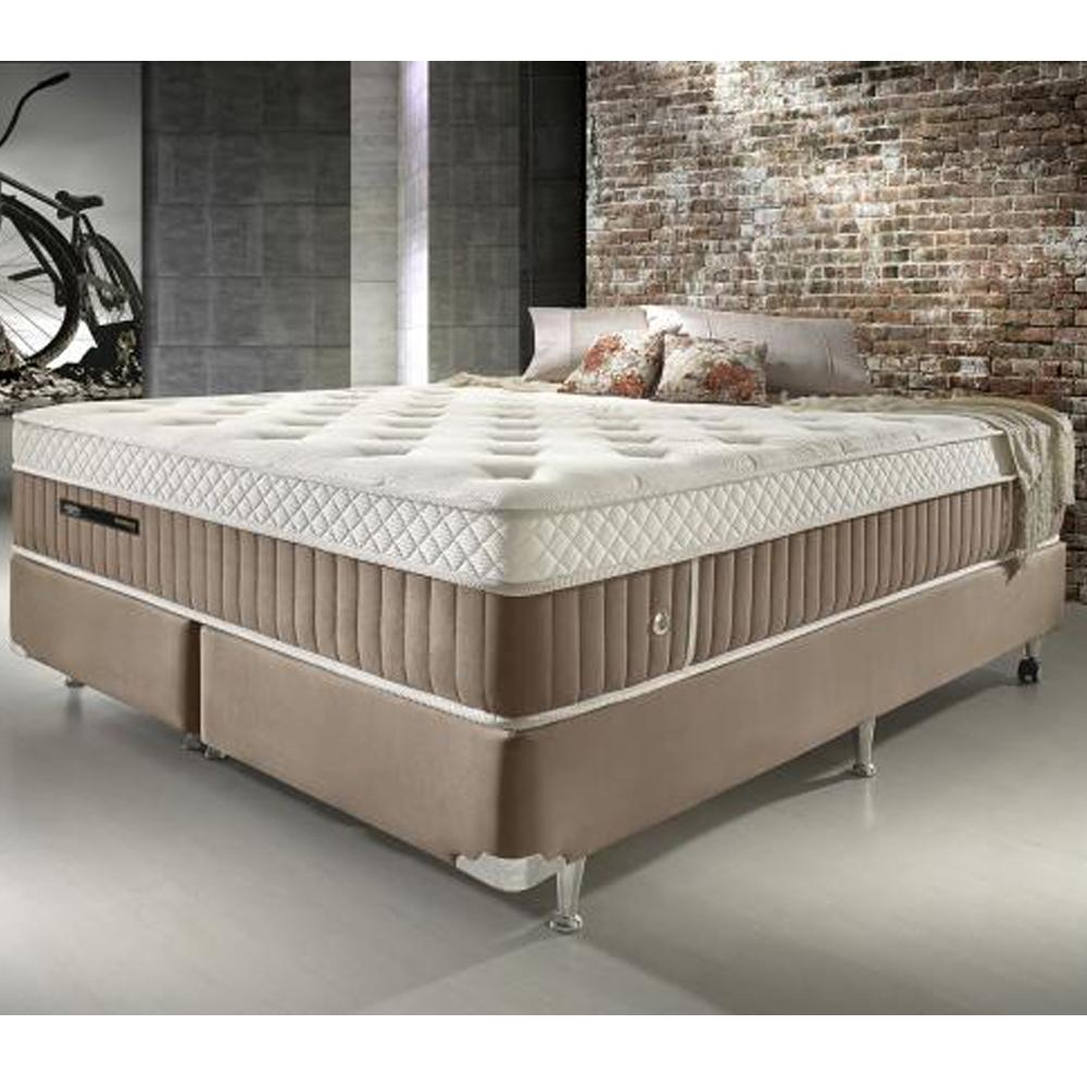 Conjunto cama box queen size de molas ecoflex excellence 1 for Sabanas para cama king size precios