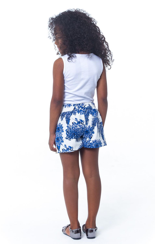 593ba31f2 Conjunto Infantil Blusa + Shorts Estampado- Tamanho 1 - Casa de bonecas R$  35,90 à vista. Adicionar à sacola