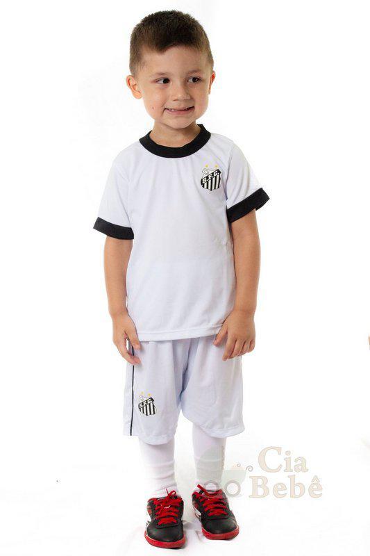 82936d59a229c Conjunto Infantil Santos Uniforme Artilheiro Oficial - Revedor R  79