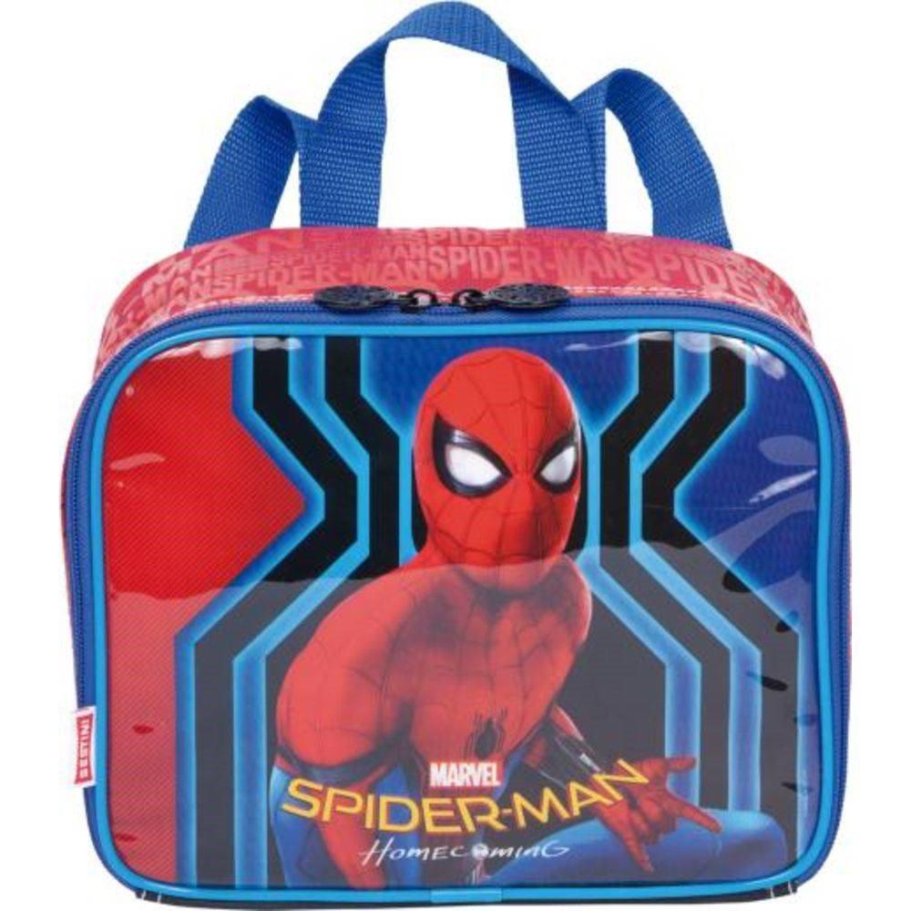 72575f4046 Conjunto Mochila e Lancheira Spiderman 18M Original - Sestini - Mochilas R   174