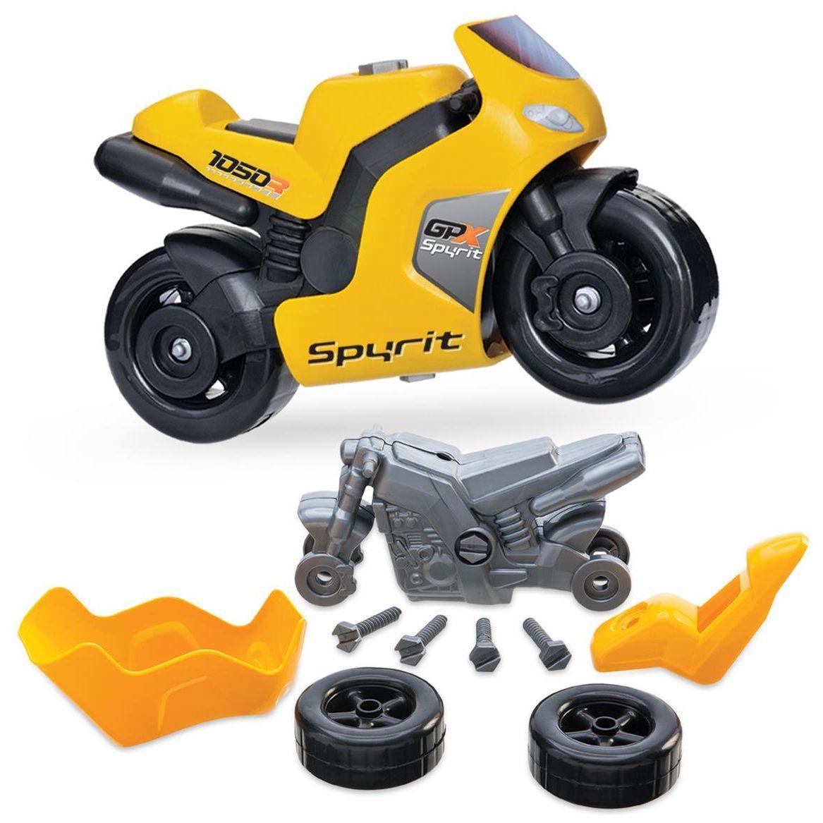 e0c03e04cc4 Conjunto Moto Spyrit Com Ferramentas - Usual Plastic - - - Magazine Luiza