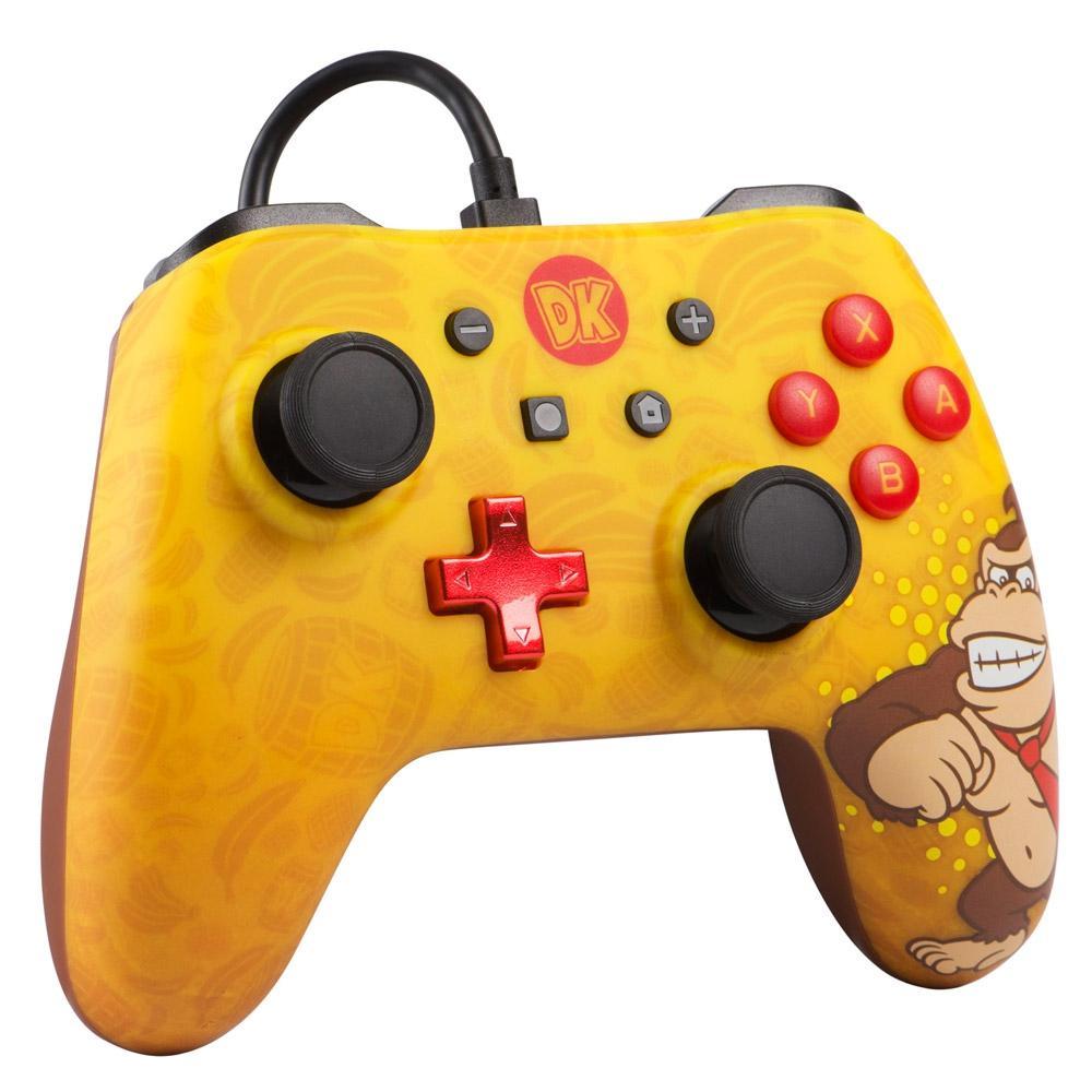 Controle Powera Wired Donkey Kong Nintendo Switch