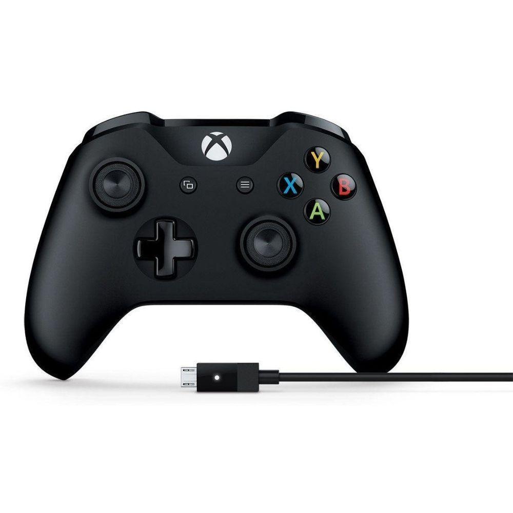 Controle Xbox One Sem Fio Preto Wireless 1708 - Microsoft - Controles Xbox  One - Magazine Luiza
