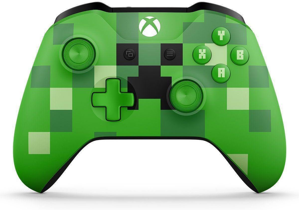Controle Xbox One Wireless - Minecraft Creeper - Microsoft