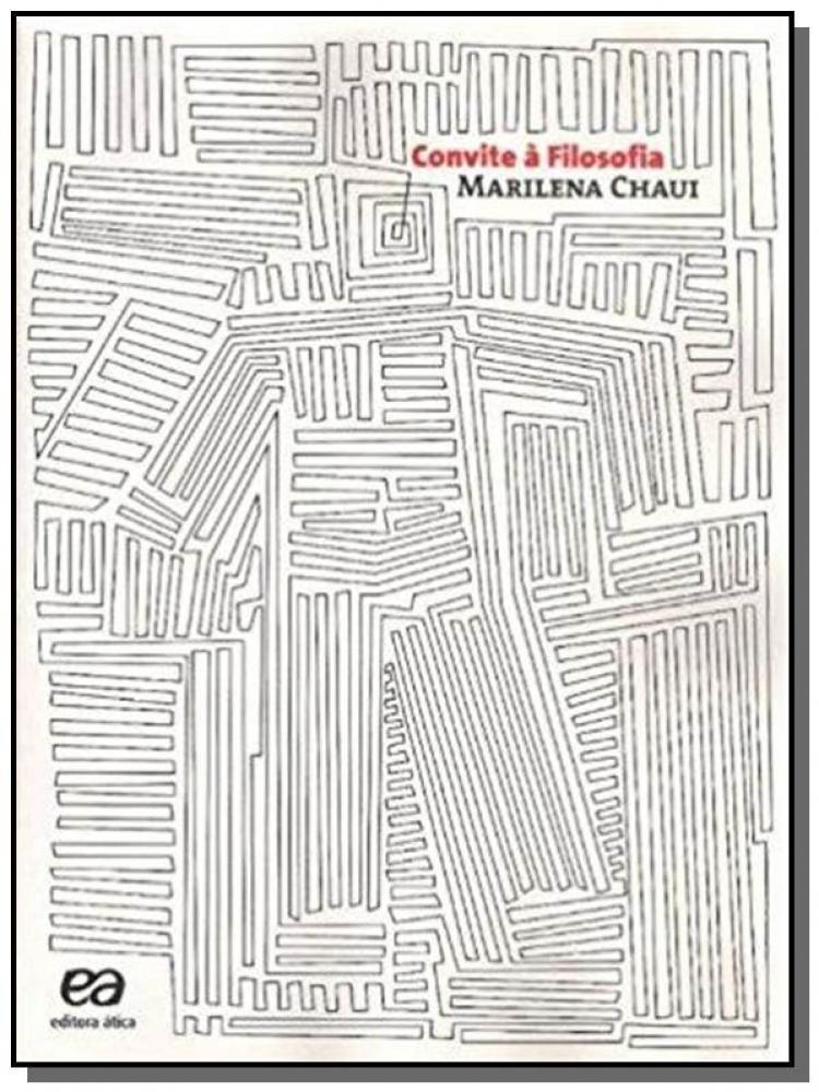 Convite A Filosofia Atica Livros Didáticos Magazine Luiza