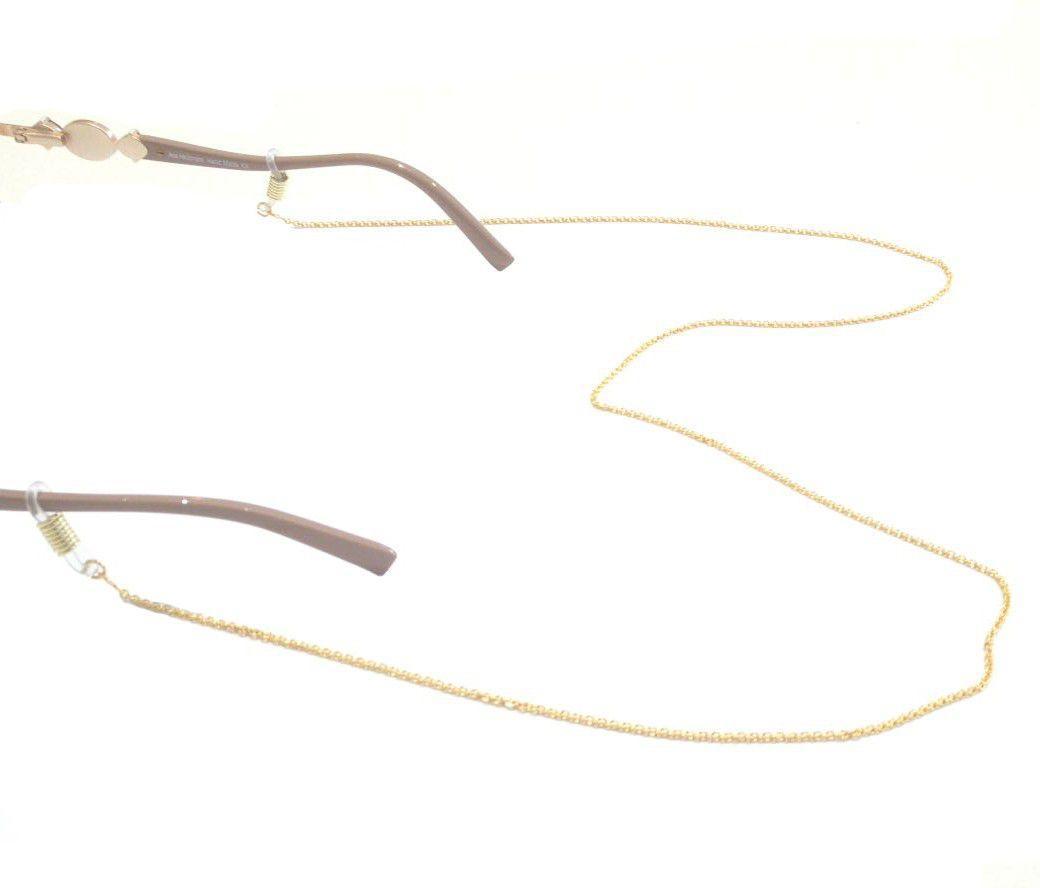 6190a1c79 Cordão Para Óculos De Grau Mini Círculo Niquel Dourado 1605481 - Vn R$  20,00 à vista. Adicionar à sacola