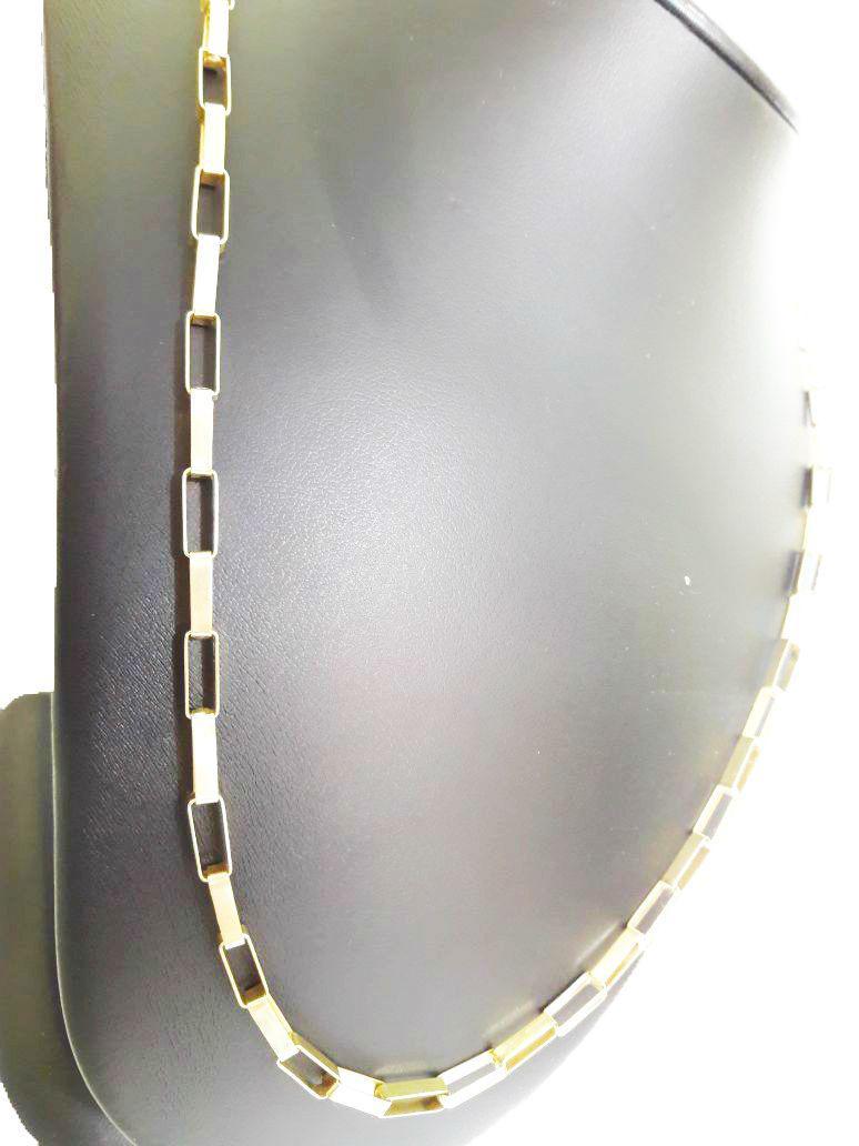 14fce928f14 Corrente Cordão Cartier 20 Gramas 4mm 70cm Ouro 18k 750 Maciço - 70 CM - Ouro  Amarelo - Perucci joias R  4.840