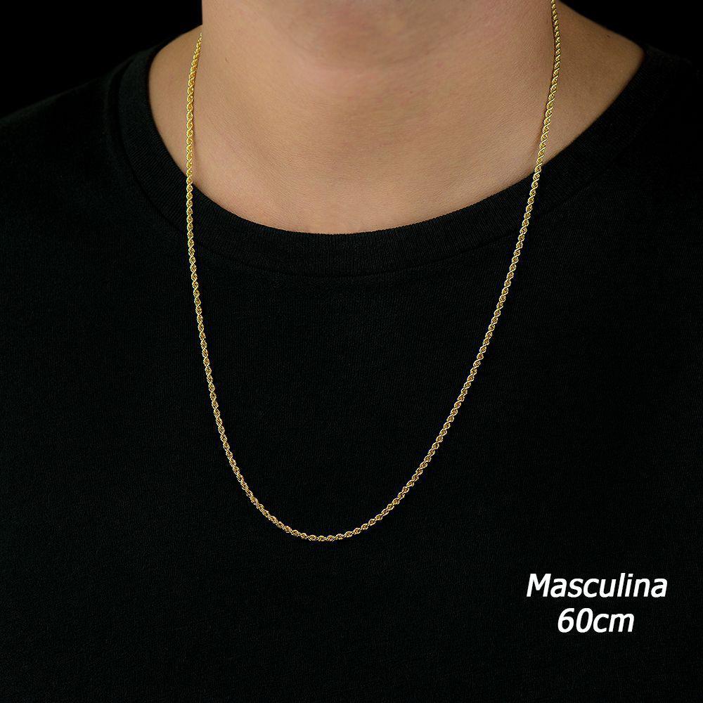 Corrente de Ouro 18k Cordão Baiano de 2,2mm com 50cm co01207 - Joiasgold R   1.829,52 à vista. Adicionar à sacola be8e025437