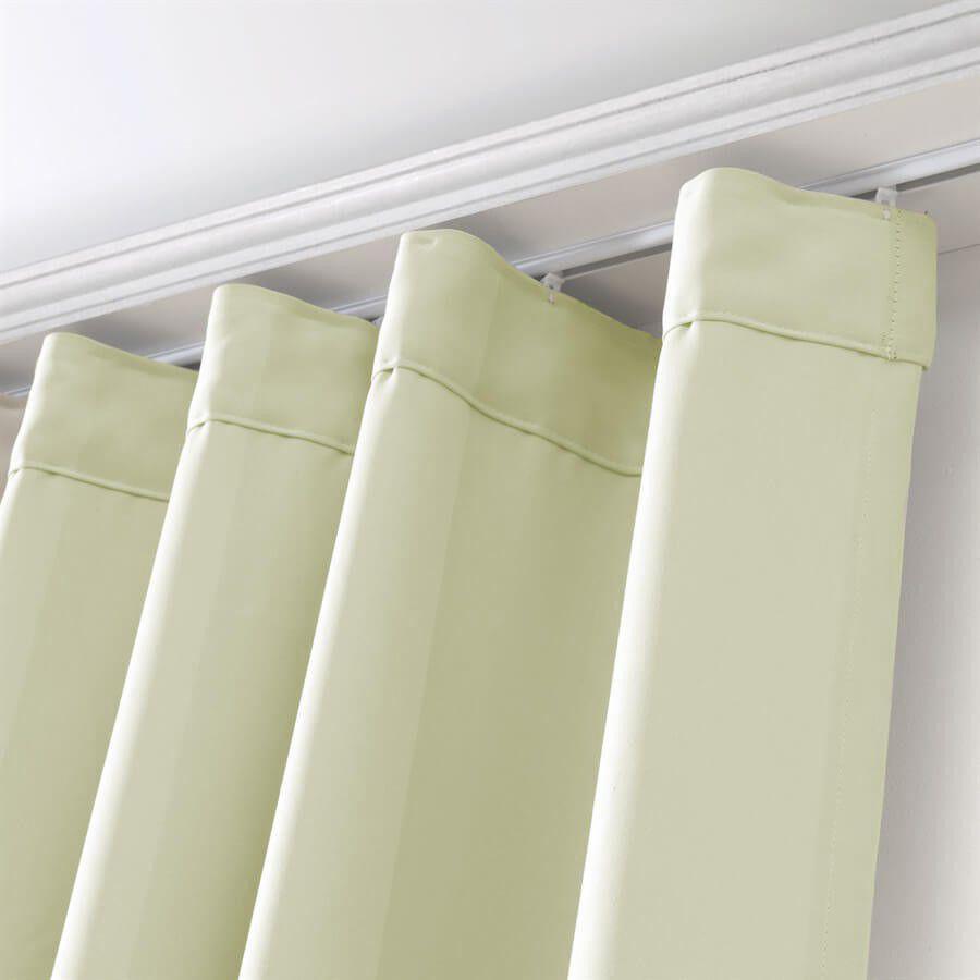 Cortina para trilho sui o bella janela inove 300x250 cm tecido corta luz marfim cortinas - Cortinados modernos ...