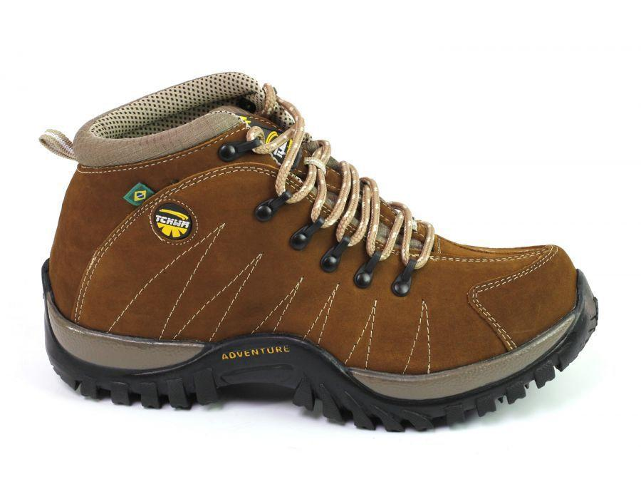 1949983c4 Coturno Adventure Trekking Masculino Couro Nobuck - Castor - Tchwm shoes R$  139,90 à vista. Adicionar à sacola