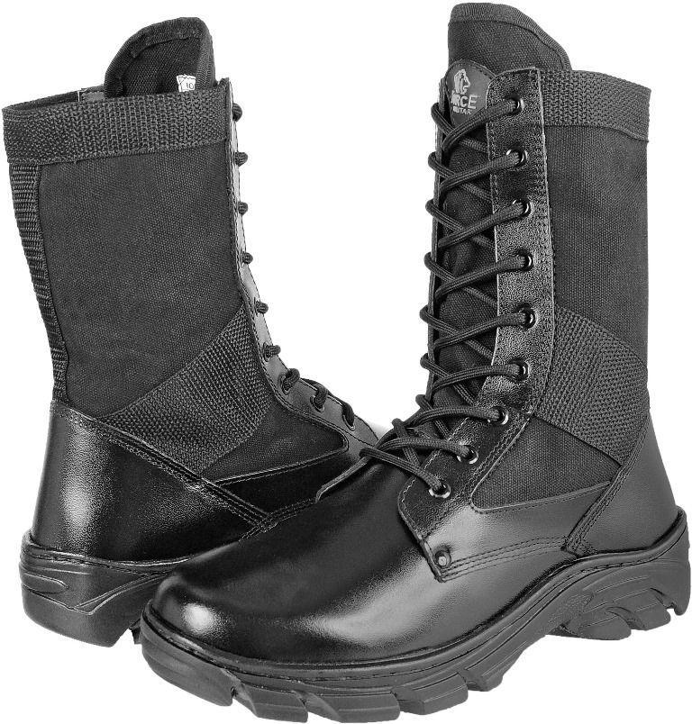 03b49358a Coturno Tático Militar Couro Extra Leve. - Force militar R$ 169,80 à vista.  Adicionar à sacola