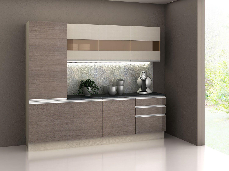 Ver Armario De Cozinha Magazine Luiza : Cozinha compacta madesa glamy com balc?o portas