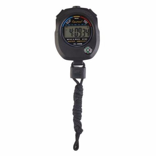 f37f183b251 Cronometro digital com relogio bussola calendario e alarme progressivo  profissional - Gimp R  20